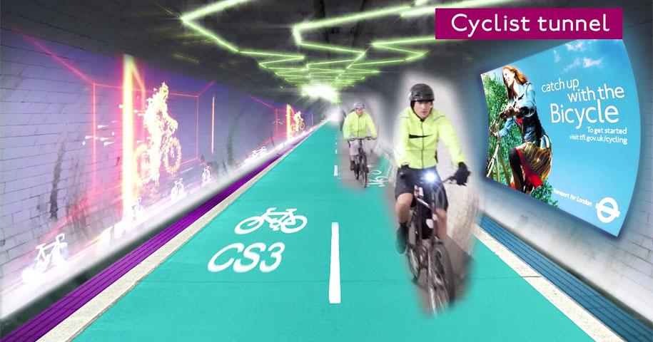 bicycle-pedestrian-tunnels-underline-gensler-london-3