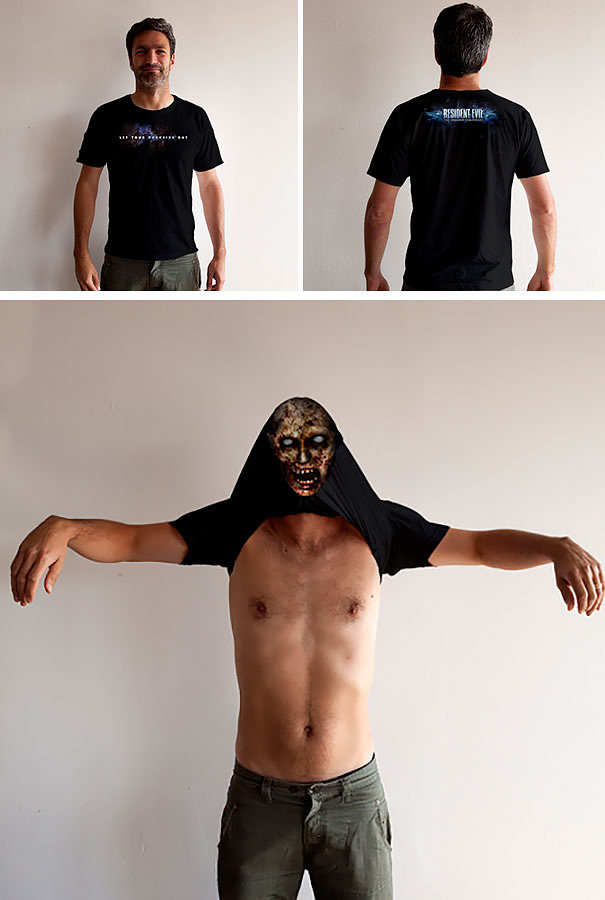 "28 Creative T-Shirt Designs Demonstrate That ""Image on Chest"" Isn ..."