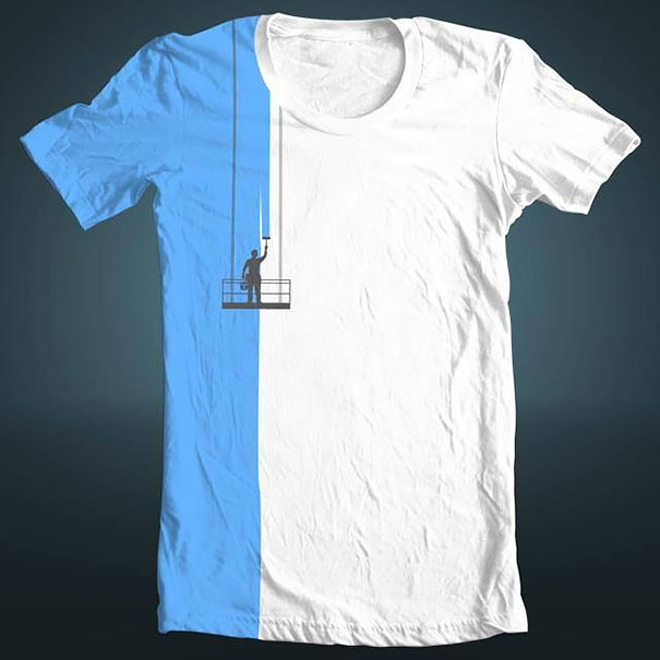 creative funny smart tshirt designs ideas 27 - Cool Tshirt Design Ideas