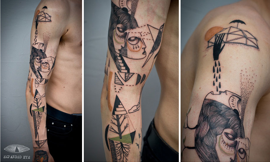 cubism-tattoos-expanded-eye-18