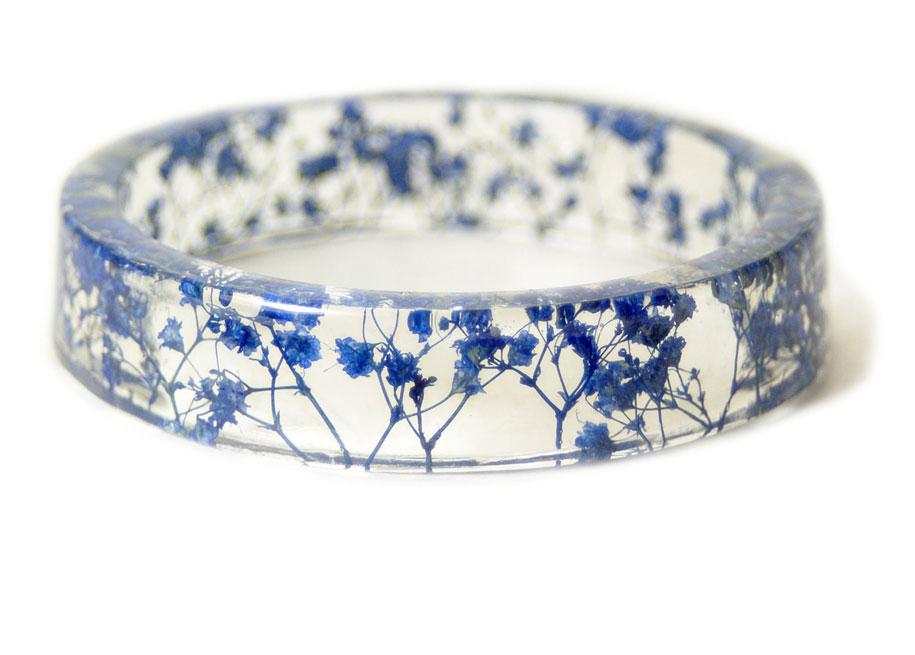 These Handmade Resin Bracelets Freeze