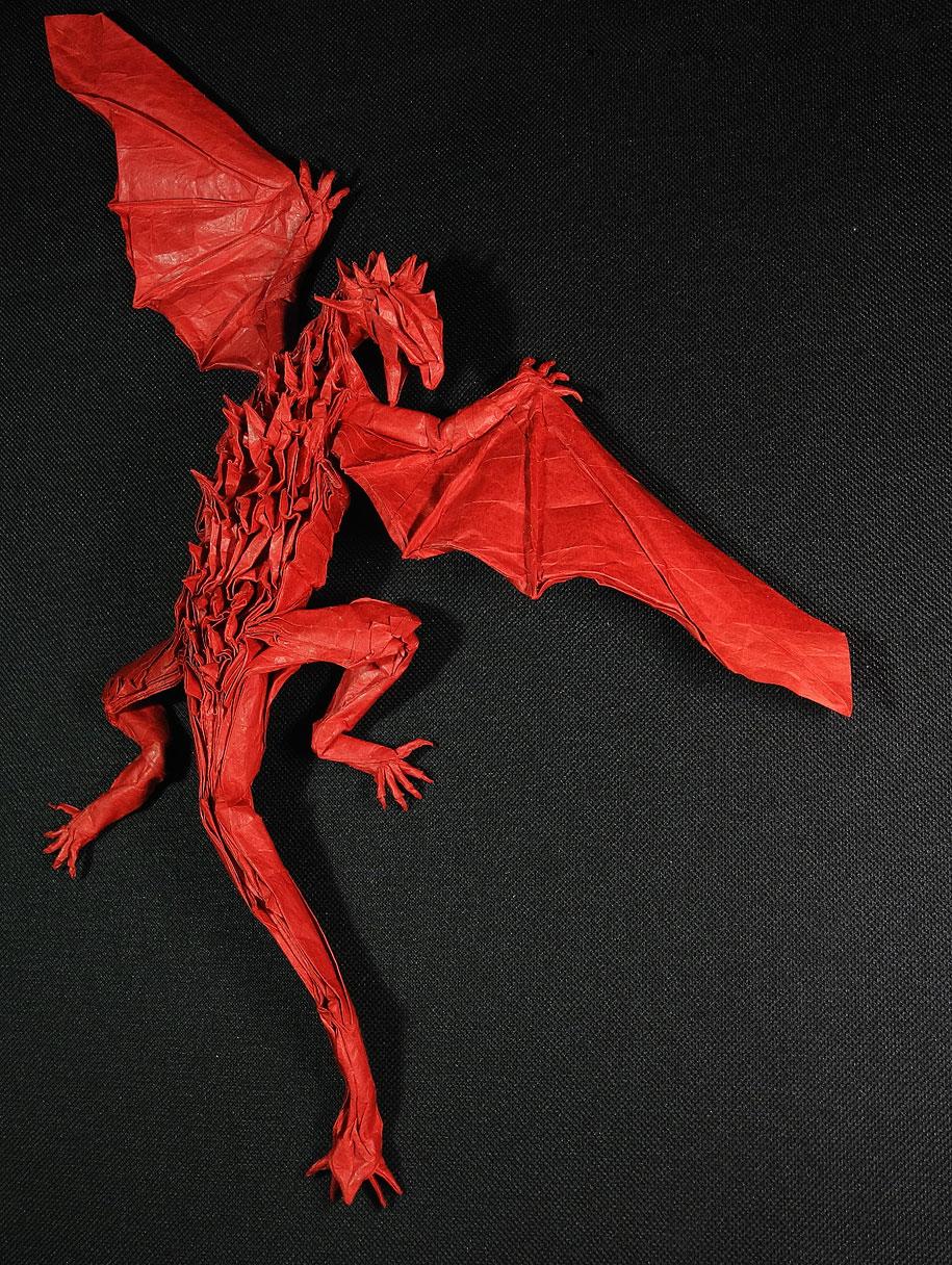paper-craft-origami-dinosaurs-dragon-adam-tran-trung-hieu-1