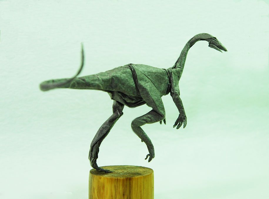 Paper Craft Origami Dinosaurs Dragon Adam Tran Trung