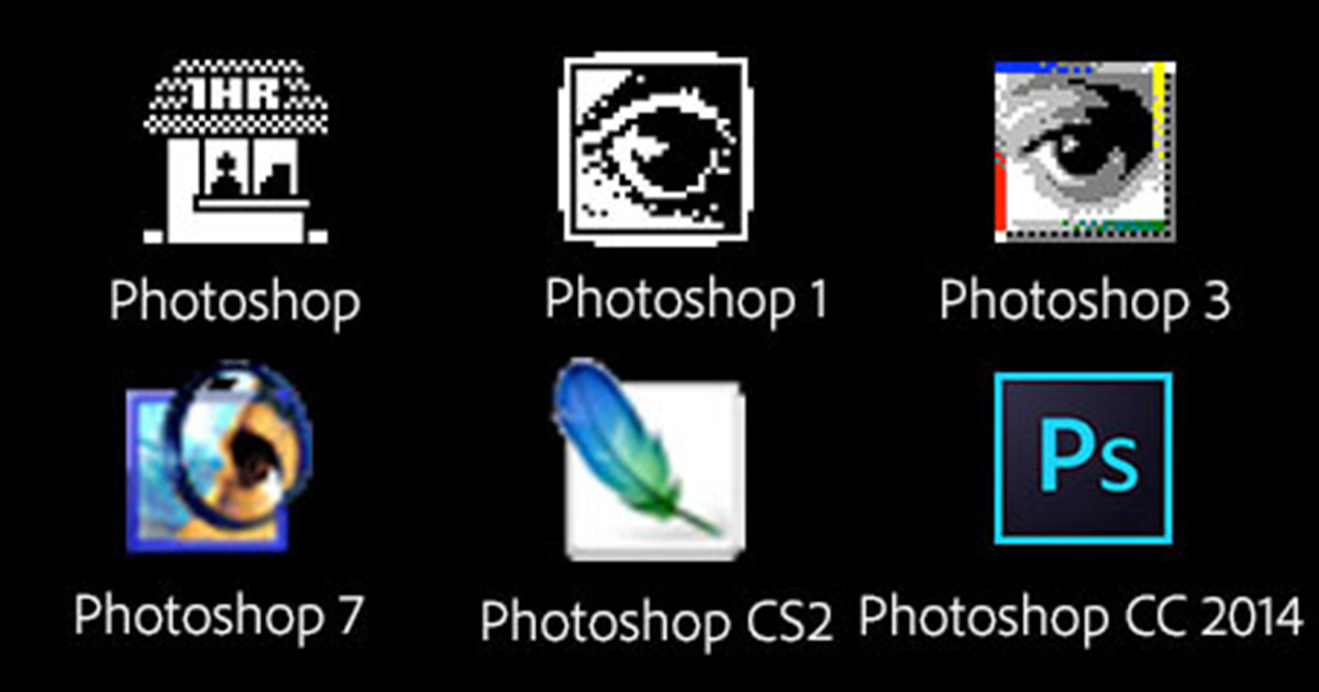 photoshop turns 25 a brief look at the history of our favorite picture editing software. Black Bedroom Furniture Sets. Home Design Ideas