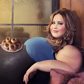 Spanish Artist Photoshops Celebrities To Look Fat And Make People Happier About Their Bodies