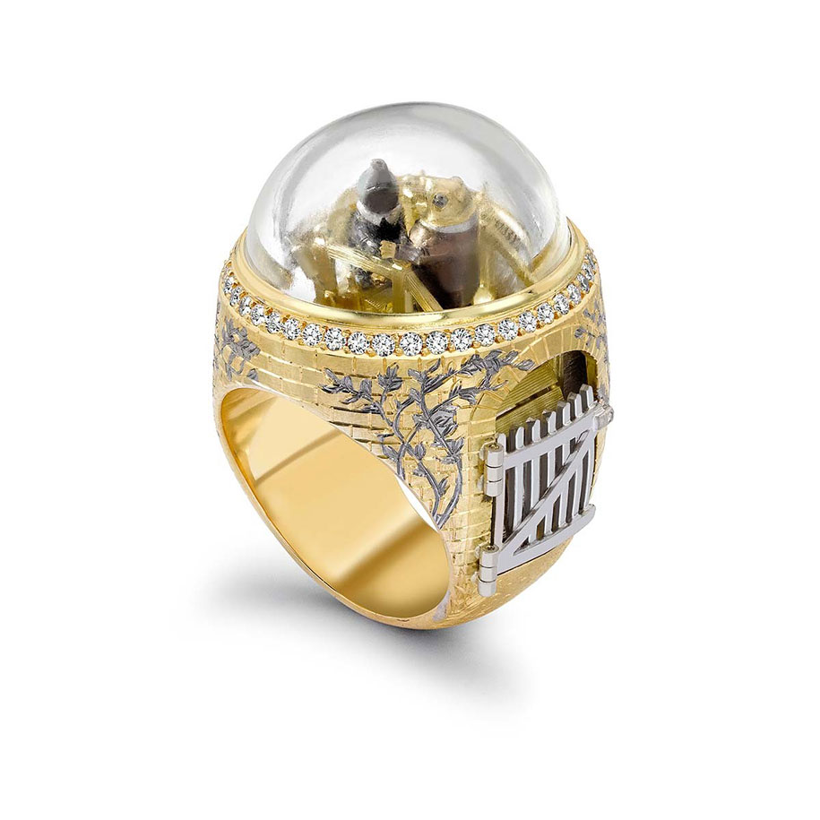 Magical Rings With Secret Compartments Inspired By Famous
