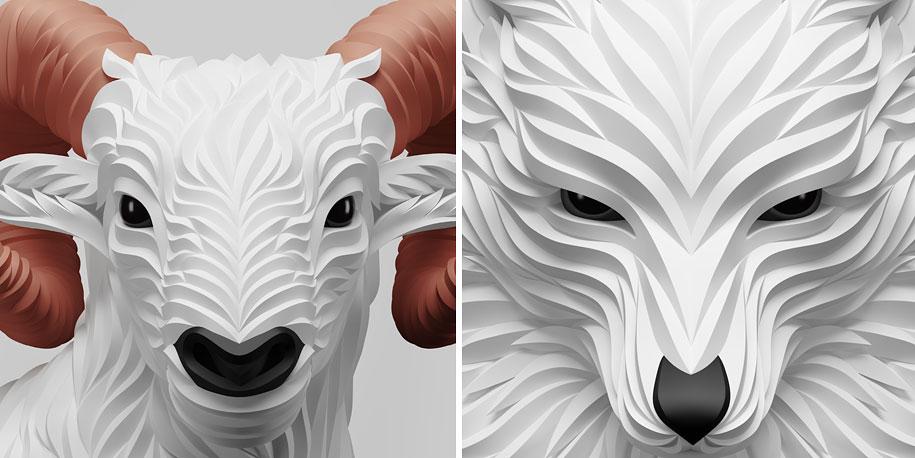 3d-geometry-animals-wolf-hoof-maxim-shkret-5