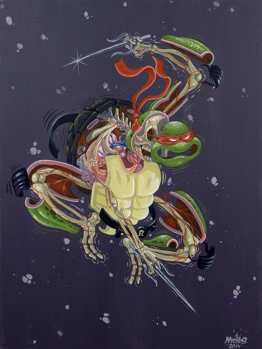 cartoon-character-animal-dissection-street-art-nychos-6