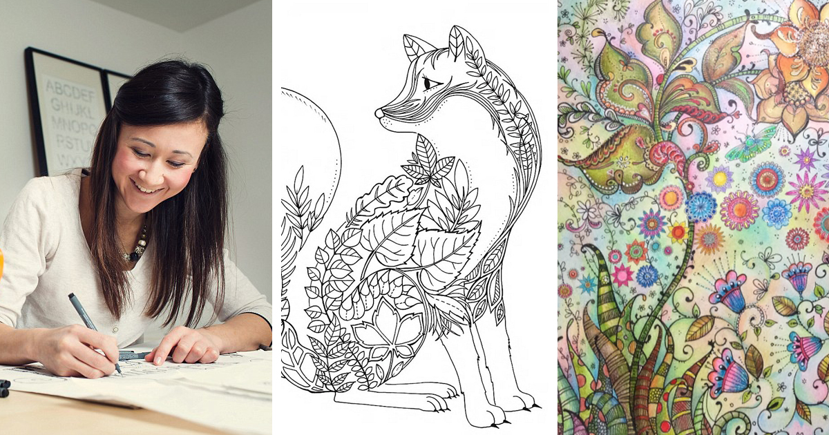 British Artist Draws Coloring Books For Adults And Sells Million Copies