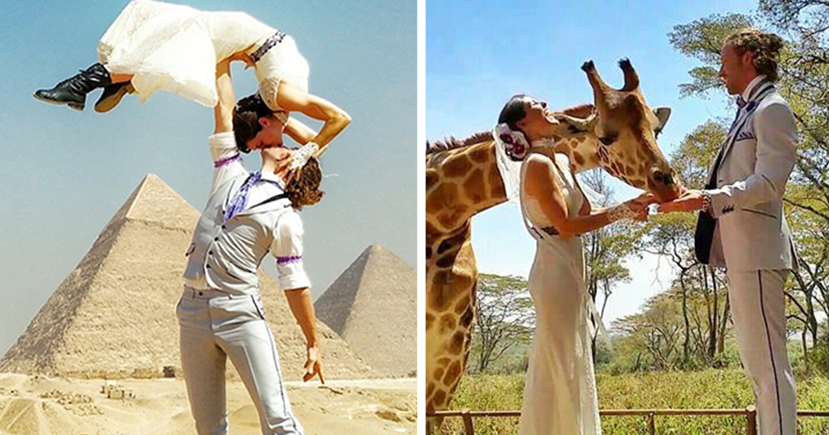 Couple Travels The World To Get Married In 38 Different Places Around The World In 83 Days
