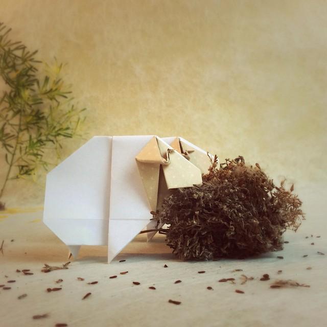 creative-origami-animal-scenes-wenlise-fold-wenche-lise-fossland-10