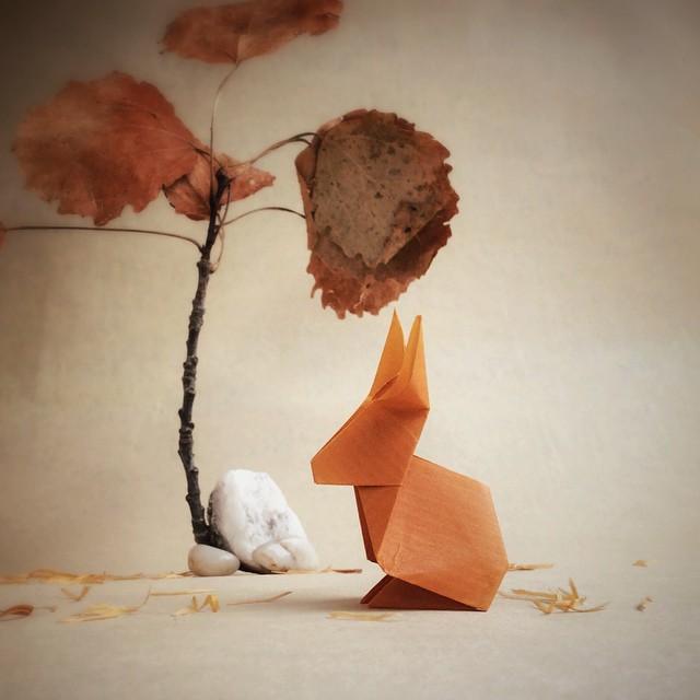creative-origami-animal-scenes-wenlise-fold-wenche-lise-fossland-14
