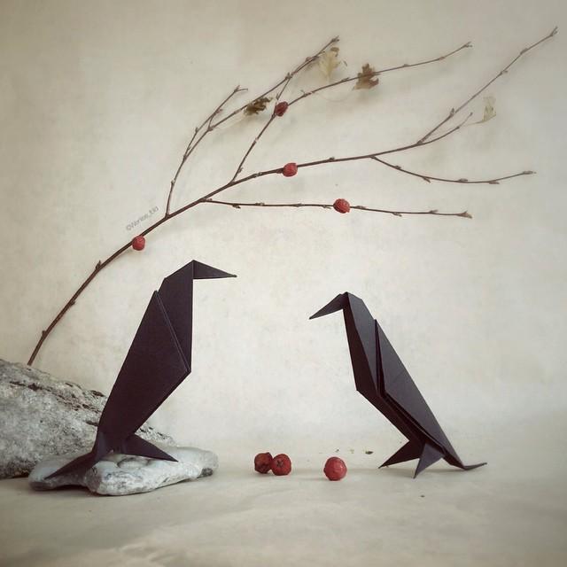 creative-origami-animal-scenes-wenlise-fold-wenche-lise-fossland-24