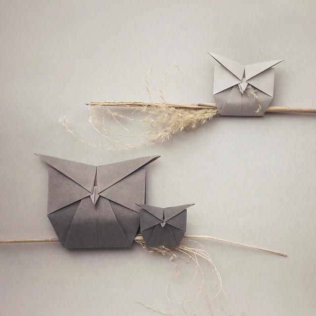 creative-origami-animal-scenes-wenlise-fold-wenche-lise-fossland-37