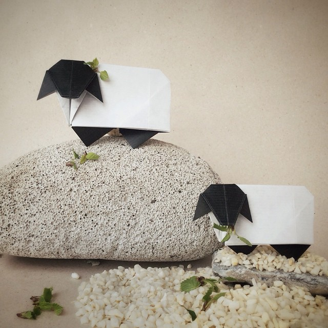 creative-origami-animal-scenes-wenlise-fold-wenche-lise-fossland-40