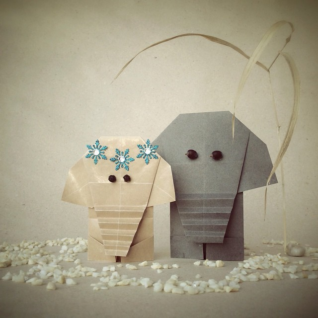 creative-origami-animal-scenes-wenlise-fold-wenche-lise-fossland-47