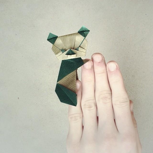 creative-origami-animal-scenes-wenlise-fold-wenche-lise-fossland-52