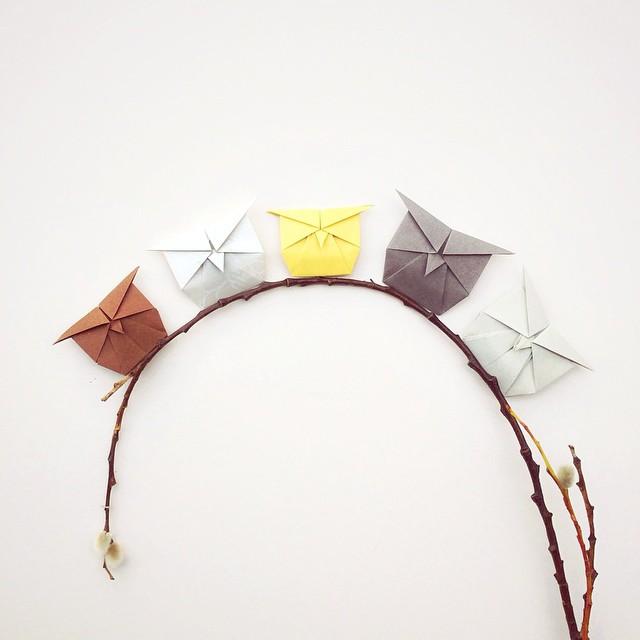 creative-origami-animal-scenes-wenlise-fold-wenche-lise-fossland-57