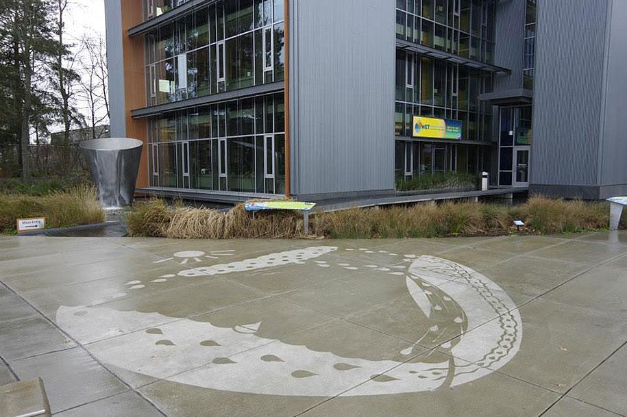 hydrophobic-sidewalk-graffiti-rainworks-peregrine-church-seattle-4