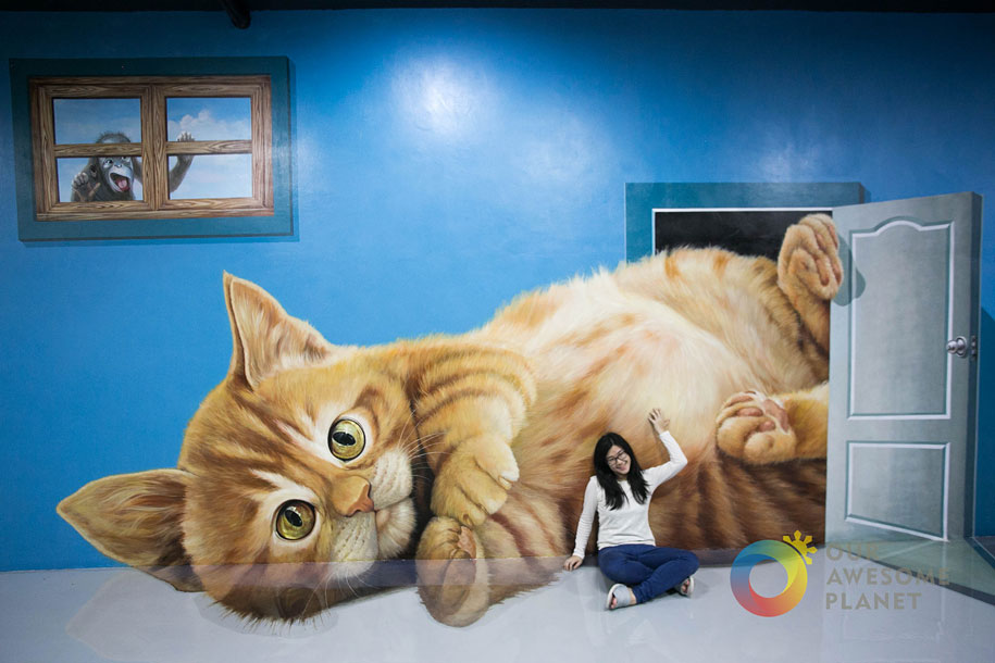 Interactive 3d Art Museum In Philippines Lets You Take A