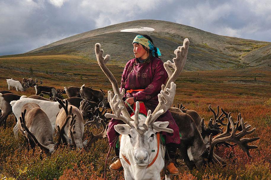 Nomadic lifestyle of Mongolia