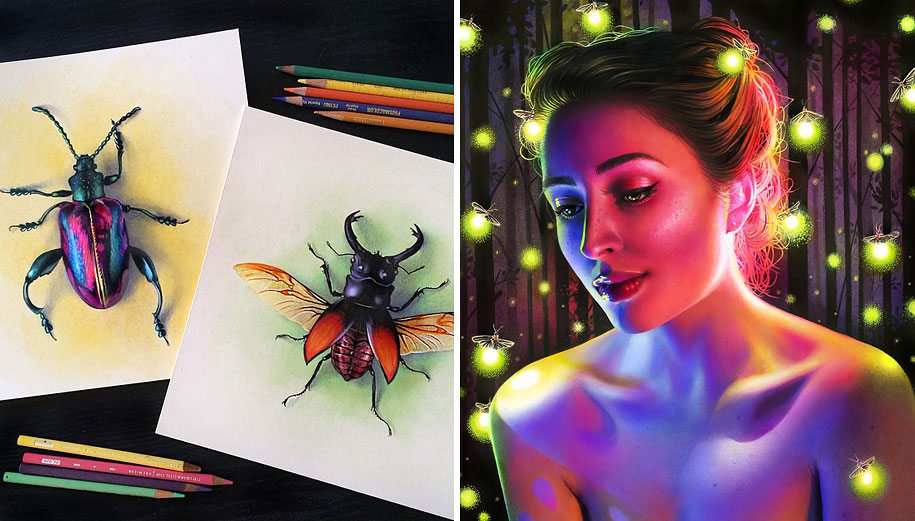 22-Year-Old Artist Creates Hyper-Realistic Pencil Drawings ...