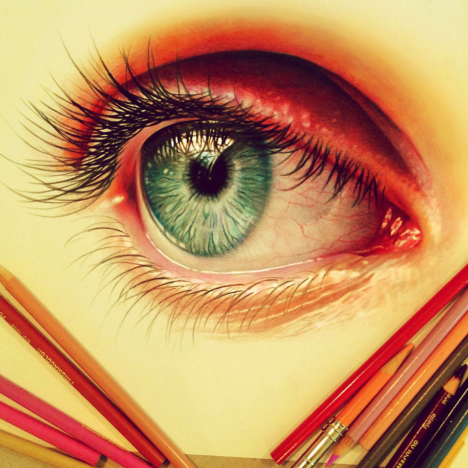 Art colored pencils - Realistic Colored Pencil Drawings Morgan Davidson 666