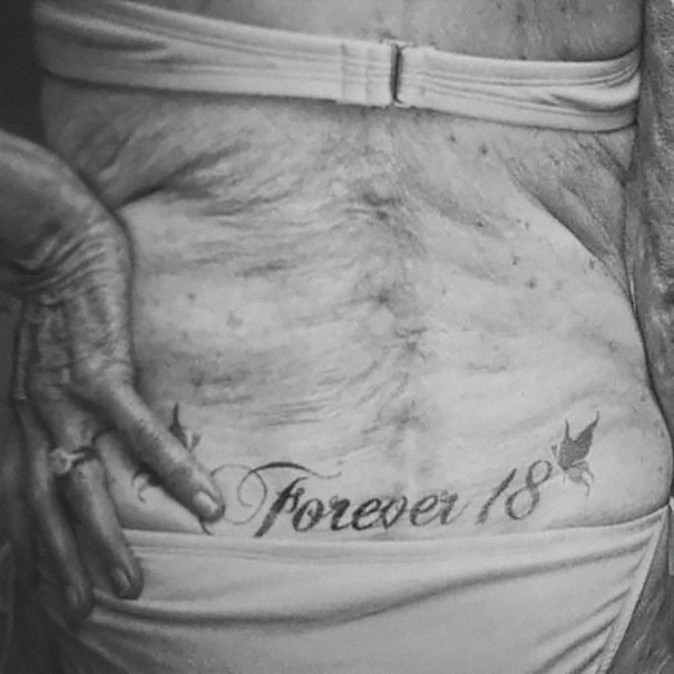 These Badass Seniors Prove That Your Tattoos Will Look Awesome In 40