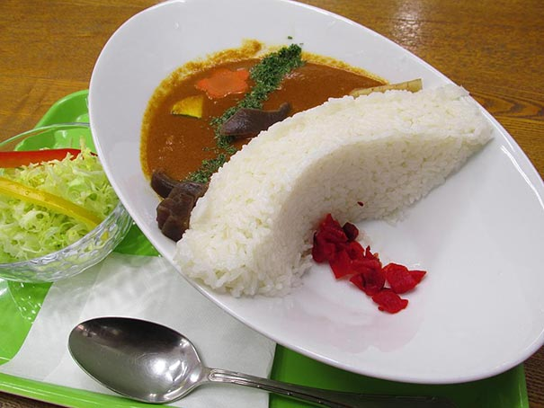 Japanese restaurants serve dam curry rice that brings for Asian cuisine ppt