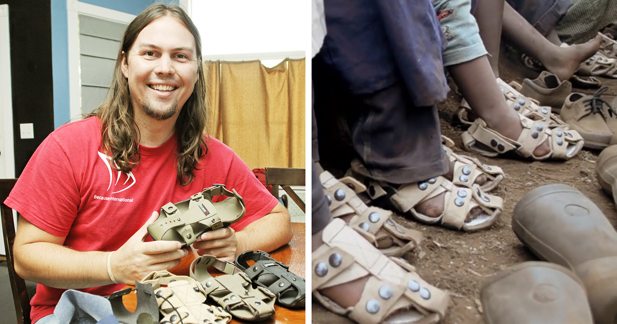 Shoe That Grows: Man Invents Shoe To Help Millions Of Poor ...