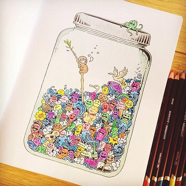 funny-adult-coloring-book-doodle-invasion-kerby-rosanes-11