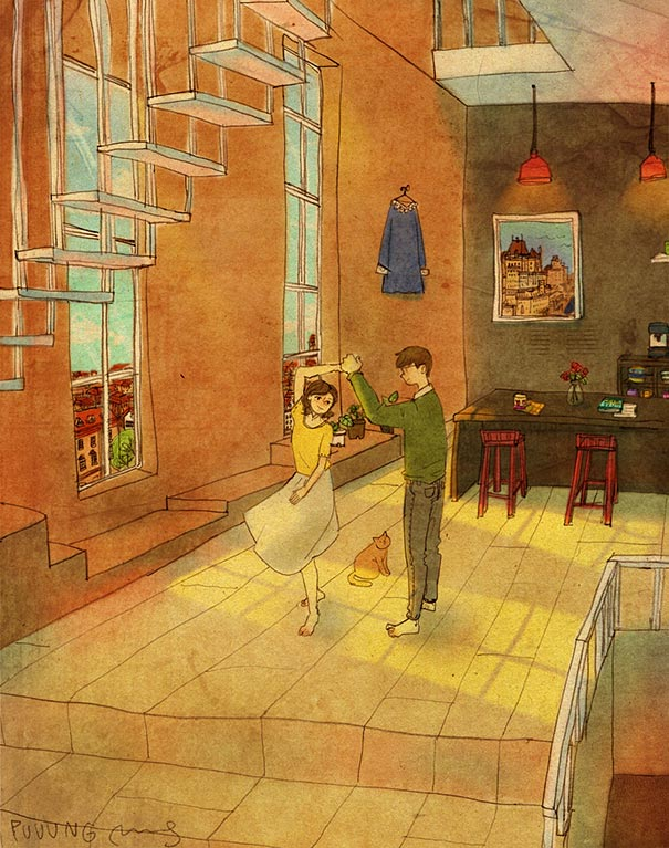 heartwarming-illustrations-art-sweet-love-couple-puuung-10