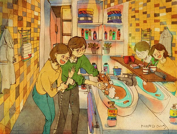 heartwarming-illustrations-art-sweet-love-couple-puuung-21