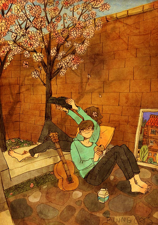 heartwarming-illustrations-art-sweet-love-couple-puuung-34