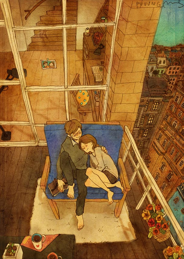 heartwarming-illustrations-art-sweet-love-couple-puuung-40