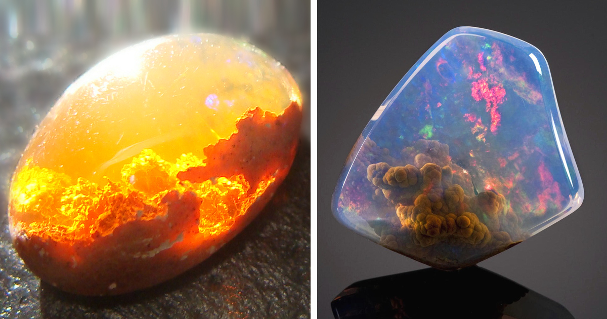 25 Magnificent Minerals And Stones With Hidden Galaxies, Skies And ...