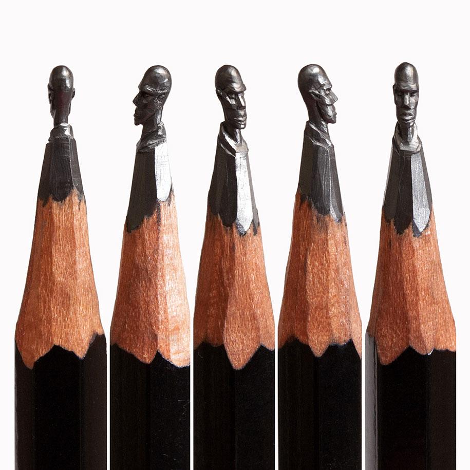 This artist turns pencils into miniature pop culture