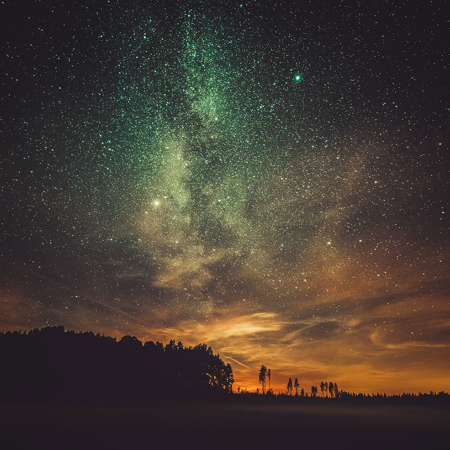 Amazing Pictures: Finnish Photographer Captures The Most Otherworldly Night