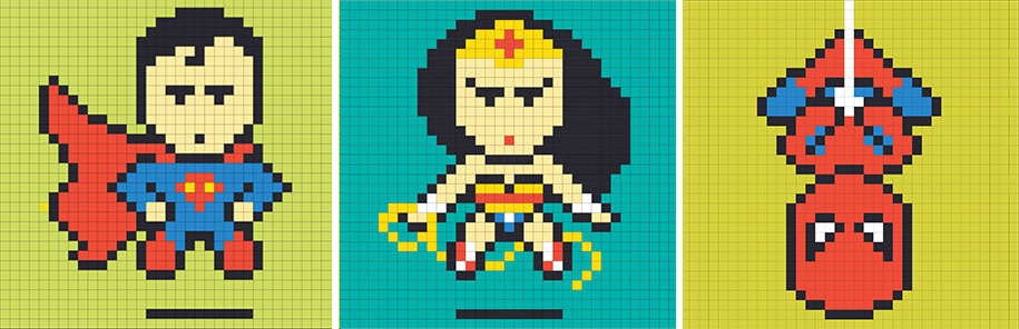 office-wall-superheroes-post-it-art-ben-brucker-77