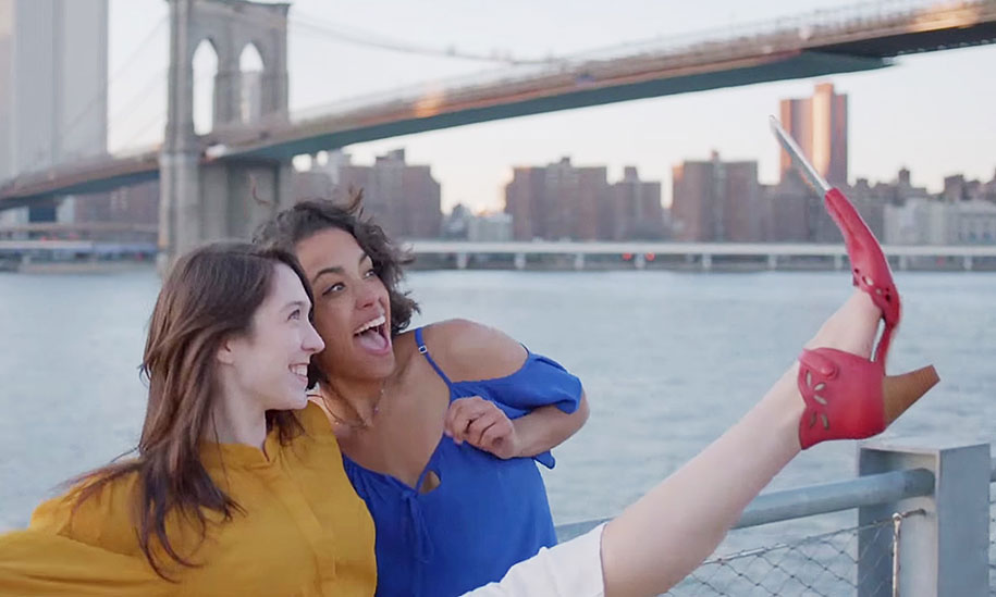 New 'Selfie Shoes' Will Take Your Selfies To The Next Level