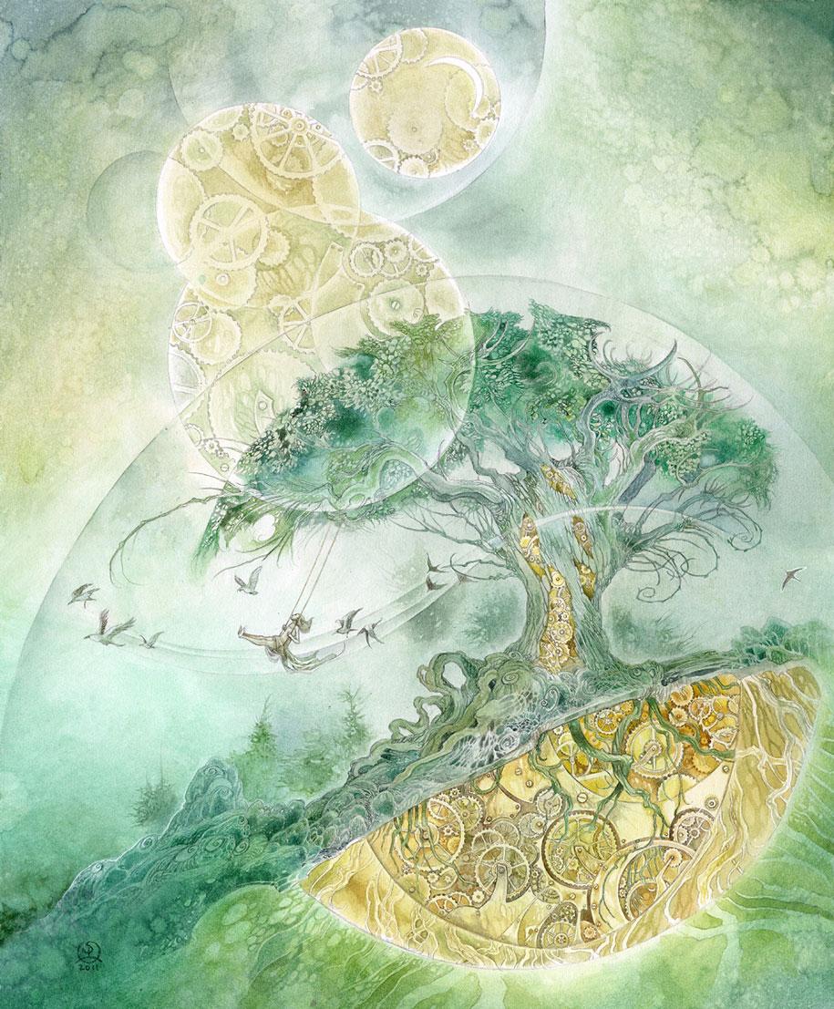 surreal-dreamlike-watercolor-paintings-stephanie-pui-mun-law-19