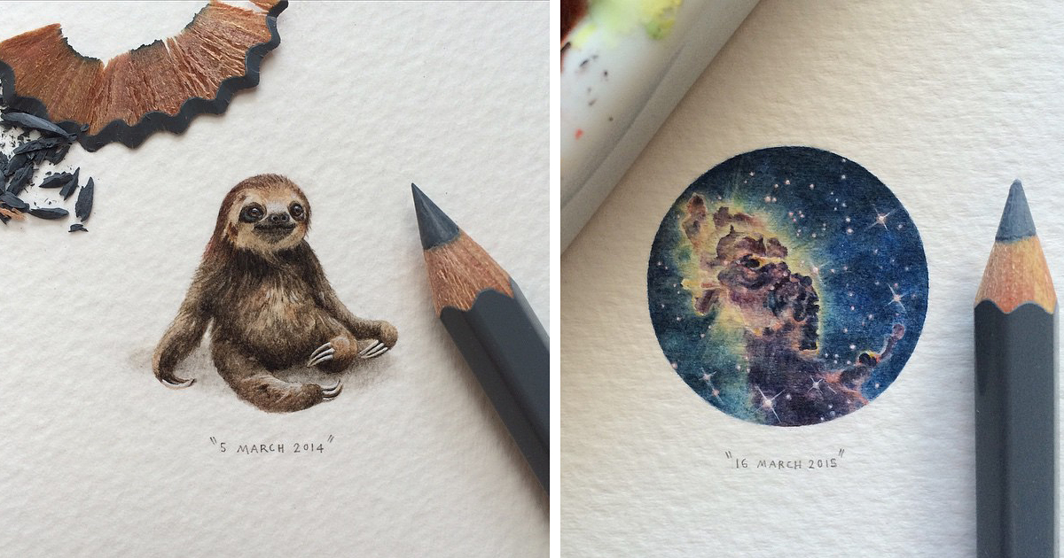Painting On Tiny Canvas