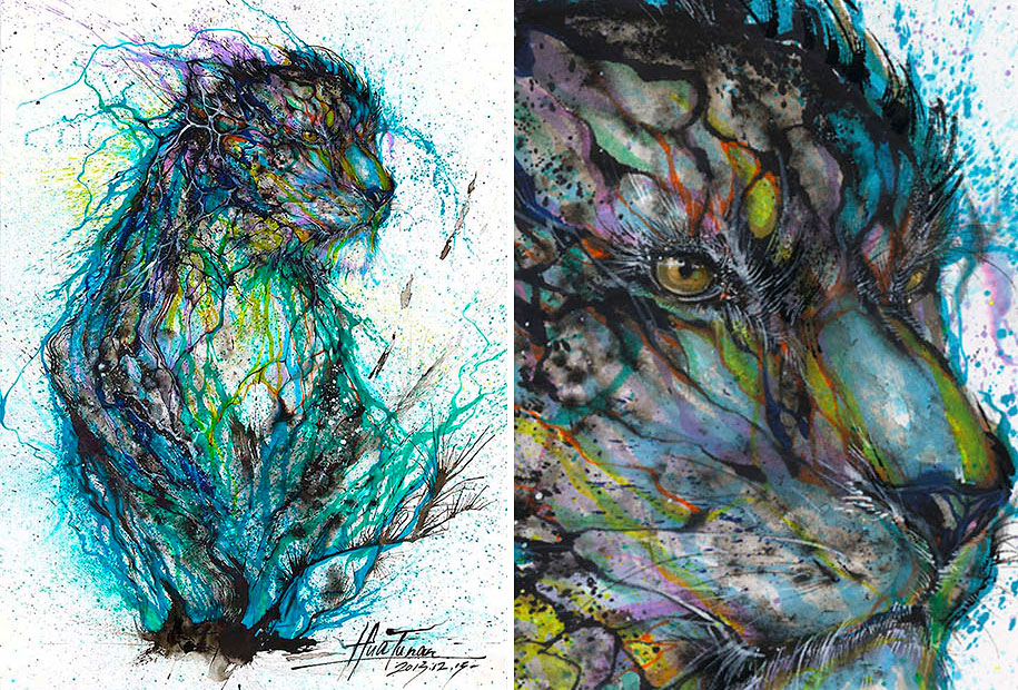 animal-paintings-ink-on-paper-hua-tunan-15