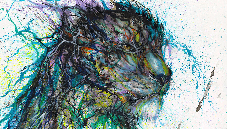 animal-paintings-ink-on-paper-hua-tunan-17