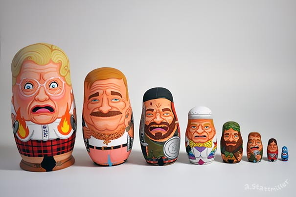 comedy-actor-tribute-robin-williams-nesting-dolls-andy-stattmiller-4