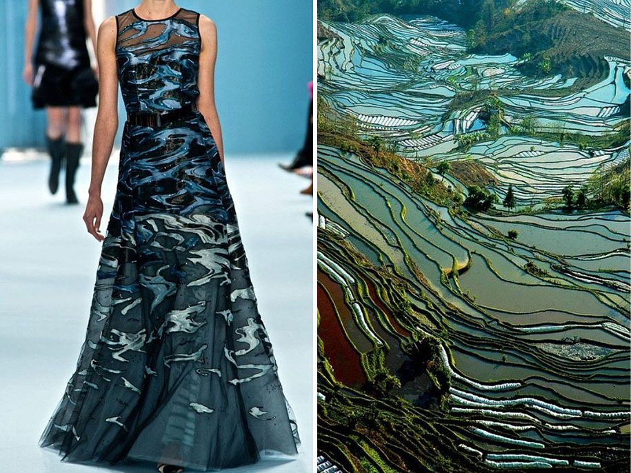 Fashion Inspired By Nature Russian Artist Compares Famous