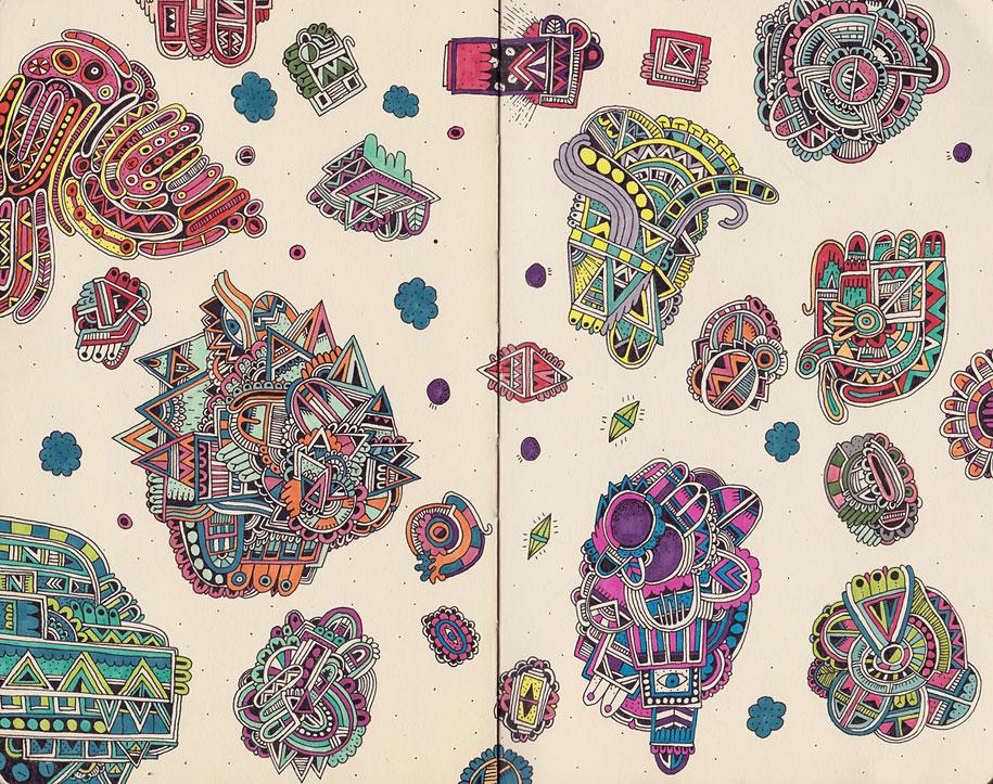 doodles-sketchbook-drawings-sophie-roach-05