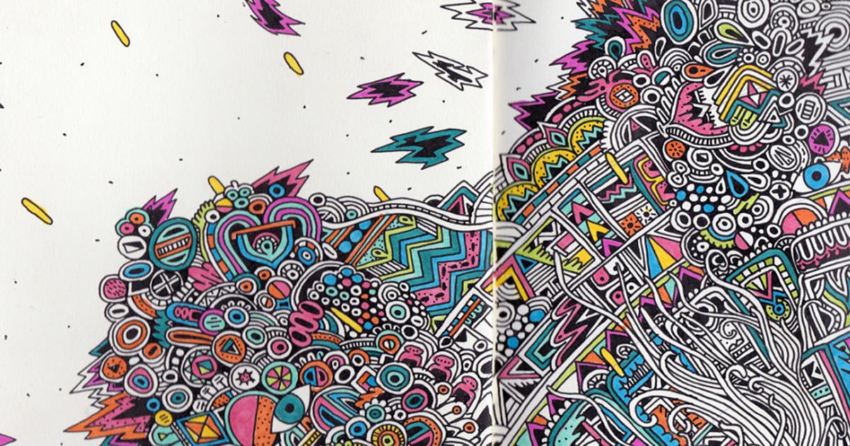 sketchbook doodles artist drawings sophie demilked magazine