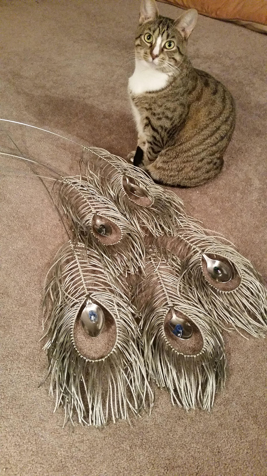 found-object-sculpture-metal-peacock-liddlenomnom-2