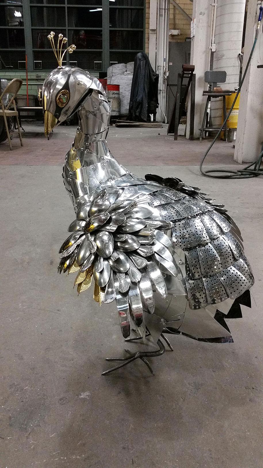 found-object-sculpture-metal-peacock-liddlenomnom-8